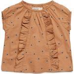 Tops - 24-36M Children's Clothing MarMar Twilla - Caramel Dot