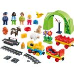 Toy Train - Plasti Playmobil My First Train Set 70179