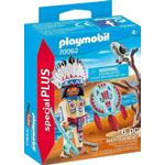 Action Figure price comparison Playmobil Native American Chief 70062