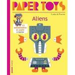 Hardcover paper Books Paper Toys - Aliens (Hardcover, 2019)