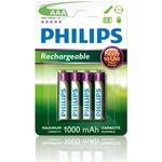 Rechargeable Standard Batteries on sale Philips R03B4RTU10/10 Compatible 4-pack