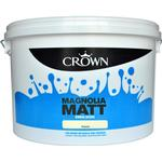Wall Paint Crown Matt Emulsion Wall Paint, Ceiling Paint Beige 7.5L