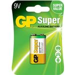 Alkaline - 9V (6LR61) Batteries and Chargers price comparison GP Batteries Super Alkaline 9V Compatible