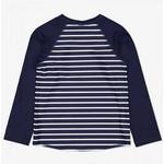 UV-Clothes Children's Clothing Polarn O. Pyret Sunsafe Kids Rash Vest - Blue (60403270-483)