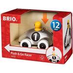 Wood - Car Brio Push & Go Racer Special Edition 30232