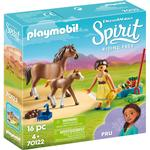 Action Figure price comparison Playmobil Pru with Horse & Foal 70122