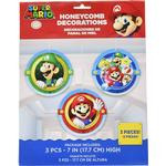 Amscan Hanging Super Mario 3-pack