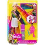Fashionistas Toys Mattel Barbie Rainbow Sparkle Hair Doll