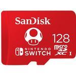 SanDisk Nintendo Switch Red microSDXC Class 10 UHS-I U3 100/90MB/s 128GB