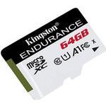 Kingston High Endurance microSDXC Class 10 UHS-I U1 A1 95/30MB/s 64GB