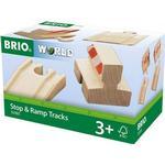BRIO Ramp & Stop Track Pack 33385