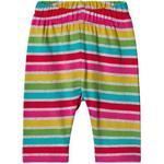 Leggings - Multicolour Children's Clothing Frugi Libby Striped Leggings - Rainbow Marl Breton (LEA853RMT)
