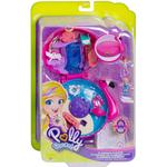Play Set Mattel Polly Pocket Flamingo Floatie Compact