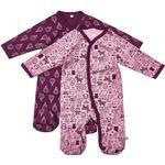 Night Garments Children's Clothing Pippi Pajamas 2-pack - Lilac 3821 LI -600)