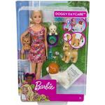Doll Pets & Animals - Dog Barbie Doggy Daycare Doll & Pets FXH08