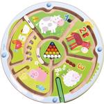 Marble Mazes - Wood Haba Magnetic Game Number Maze 301473