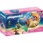 Ocean - Play Set Playmobil Mermaid with Sea Snail Gondola 70098