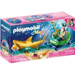 Ocean - Play Set Playmobil King of the Sea with Shark Carriage 70097