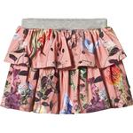 Girl - Flounce Skirts Children's Clothing Molo Bini - Flowers Of The World (2S19D125 4178)