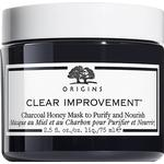 Facial Mask - Mineral Oil Free Origins Clear Improvement Charcoal Honey Mask to Purify & Nourish 75ml