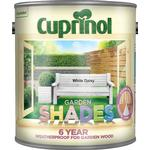 Cuprinol Garden Shades Wood Paint White 2.5L