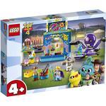 Plasti - Lego Toy Story Lego Disney Pixar Toy Story 4 Buzz & Woody's Carnival Mania! 10770