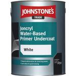 Eco-labelling - White Paint Johnstone's Trade Joncryl Water-Based Primer Undercoat Wood Protection White 1L