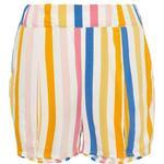 Shorts - Pocket Children's Clothing Name It Kid's Multi Striped Shorts - White/Bright White (13164693)