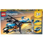 Lego Creator 3-in-1 price comparison Lego Creator Twin Rotor Helicopter 31096