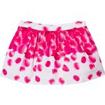 Girl - Pleated Skirts Children's Clothing Dr Kid Petal Print Skirt - Pink (245569)