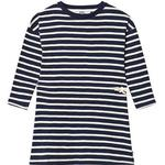T-shirt Dresses - Blue Children's Clothing ebbe Kids Maddy Dress - Dark Navy/Pale Sand