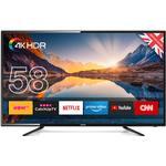 Smart TV TVs price comparison Cello C58SFS4K