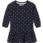 Sweatshirt Dresses - Elastan Children's Clothing ebbe Kids Isa Dress - Map Spots (351099)