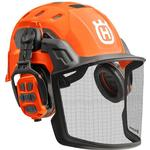 With Helmet - Hearing Protection Husqvarna Forest Helmet Technical X-com