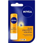 Sun Protection Lips - Vitamins Nivea Sun Protect Caring Lip Balm SPF30 4.8g