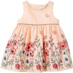 Everyday Dresses - Pink Children's Clothing Name It Baby Floral Printed Dress - Pink/Strawberry Cream (13164620)