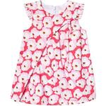 Everyday Dresses - 6-9M Children's Clothing Catimini Poplin Dress Printed with Cherry Blossoms - Pink (CN30273|85)