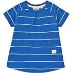 T-shirt Dresses - Stripes Children's Clothing ebbe Kids Nizele A line Dress - Blue/White Stripe