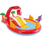 Inflatable - Water Sports Intex Happy Dino Play Center Swimming Pool