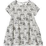 Everyday Dresses - Pocket Children's Clothing Hootkid Summer Swing Dress - Cassette (389785)