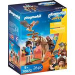 Play Set - Birds Playmobil The Movie Marla with Horse 70072