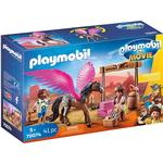 Play Set - Birds Playmobil The Movie Marla and Del with Flying Horse 70074