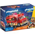 Food Toys - Plasti Playmobil The Movie Del's Food Truck 70075