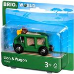 Train Accessories - Plasti Brio Lion & Wagon 33966