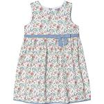 Everyday Dresses - Multicolour Children's Clothing Dr Kid Bicycle Print Summer Dress with Bow - Multi (391782)
