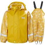 Yellow - Rain set Children's Clothing Helly Hansen K Bergen Aop PU Rainset - Essential Y (40361-344)