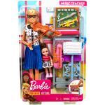 Fabric - Play Set Barbie Music Teacher Doll & Playset