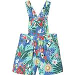 Dungarees Children's Clothing Frugi Cassie Culotte Dungaree - Hothouse Floral (DUS951HSF)