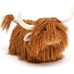 Soft Toys - Cow Jellycat Charming Highland Cow 31cm