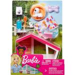 Barbie Indoor Furniture Dog House Playset